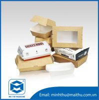 Disposable Paper Box For Food Packaging