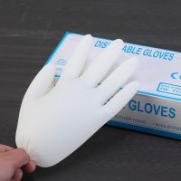 nitrile gloves black and blue