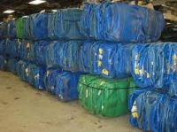 HDPE Blue Drum Scrap/ HDPE Blue Drum Baled Scrap for sell
