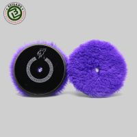 5'' inch wholesale Durable 100% Wool Buffing Pad for Car Polishing