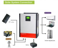 Hybrid Solar Power Inverter 3kw/5kw On-grid & Off-grid with Parallel Kit Optional