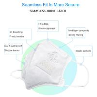.CE EN FFP2 PROVED KN95 antidust Mask Folding N95 Respirator Face Mask 4 Layer Protective Dustproof PM2.5 masks Free Shipping..
