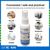 In stock 50ml Wholesale no alcohol wash free hand sanitizer spray THINK TYPE Hypochlorous acid disinfectant Free Shipping fast arrive..