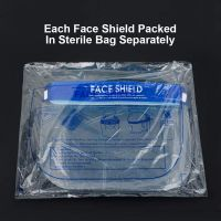 Face shield mask Anti-fog Isolation Full Protective masks with Elastic band HD Transparent PET protection mask