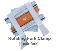 Forklift Rotating Fork Clamp