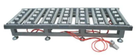 Non-Powered Pneumatic Lengthway Crosswise Synchronous-Belt Conveyor for Material Handling