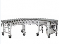 Non-Powered Flexible Roller Conveyor Extendable Roller Conveyor