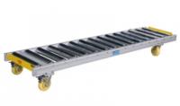 Material Hnadling Pallet Handling Non-Driven Straight Roller Conveyor Unpowered Roller Gravity Roller