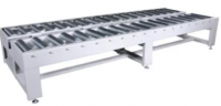 Double-Row Power Driven Crosswise Roller Conveyor