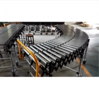 Power Telescopic Roller Conveyor