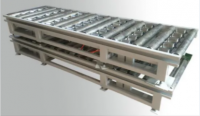 Non-Powered Pneumatic Lengthway & Crosswise Synchronous-Belt Conveyor