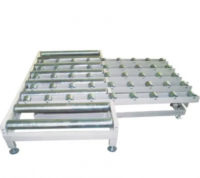 (2.5X1.5X3m) Lengthway & Crosswise Non-Powered Manual Roller Conveyor