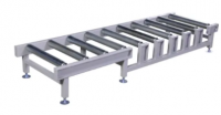 Non-Power Roller Conveyor Metalwork Fabrication Stainless Steel Customized Fabrication