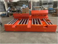 Rgv Rail Guided Vehicle Agv Warehouse Cross Transfer Conveyor for Pallet