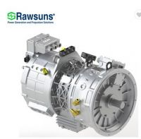 2100Nm AC double motor and planetary reducer transmission gearbox for electric bus coach