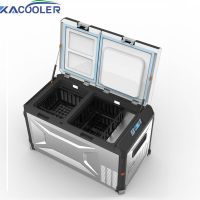 Dual Bins Car Fridge