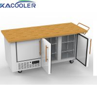 Mobile fridge freezer refrigerator 12V/24V fridge 350 Liter for outdoor camping