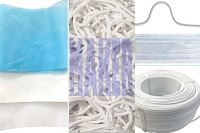 Mask raw material, non-woven fabrics, ear ribbon�¯�¼ï¿½nose bridge
