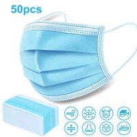 Wholesale Disposable Nonwoven 3ply Face Mask with Meltblown Filter Inside