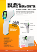 Non Infrared Thermometer
