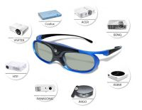 Active Shutter 3D Glasses with 2.4GHZ RF Rechargeable
