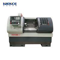 Horizontal metal processing cnc lathe machine