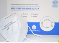 KN95 Respirator  (no valve, 4 ply)  English Packing With CE Mark