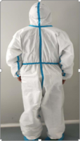 """""""Disposable Medical Protective Suit 63grams/sqm """""""