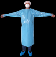 Thumb Hook Apron  (Disposable Medical Apron)