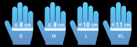 Medical Examination Vinyl Gloves, Non-Sterile
