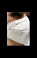 FFP2 Mask with Head Harness Strap (PM2.5 Particle Filtering Half Mask)