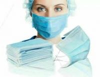Aosen MedTech Anti Dust Disposable 17.5cm*9.5cm Size 3Ply Non-Woven Fabric Material Face Mask