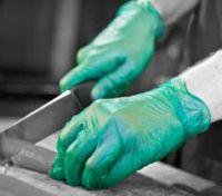 100pcs/box Powder Free Restaurant Use Examination PVC Vinyl Disposable Gloves