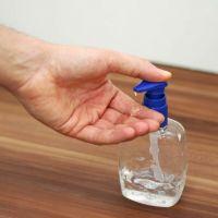 2020 Hot Sell Antiseptic Antibacterial Hand Wash Factory Custom Mini Hand Wash Design Holder Alcohol Gel Hand Sanitizer