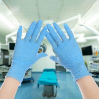 safety protective transparent vinyl disposable examination pvc gloves