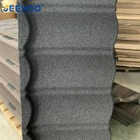 Lightweight Galvanized Roofing Sheet Stone Chip Coated Steel Roof Tiles