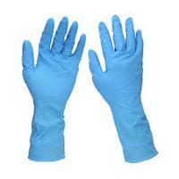 Nitrile  blue gloves