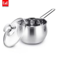 Stainless Steel Non-Stick Saucepan 1.5L