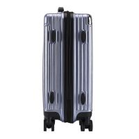 China Manufacturing spinner wheels ABS luggage sets carry on luggage 3 sizes sets