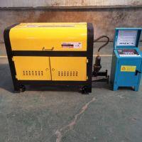 automatic cnc hydraulic rebar straightening cutting machine