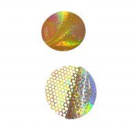Custom Honeycomb hologram security sticker