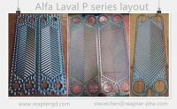 Alfa Laval plate and gasket P16 P26 P36 fresh water heat exchanger