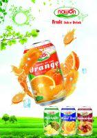 NAWON ORANGE FRUIT JUICE DRINK 330ML X 24