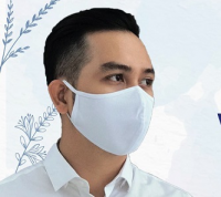100% cotton face mask soft earloops quick delivery cheap price made in Vietnam
