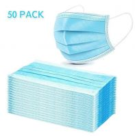 3 Ply Disposable Face Masks with Ear Loop