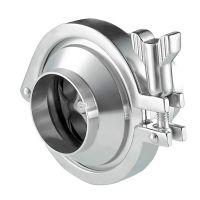 3A SMS DIN Food Grade Sanitary Stainless Steel nrv Check Valve