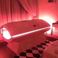 Red light therapy capsule PDT anti aging beauty machine