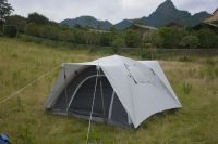 OEM Custom Luxury 2 To 4 Person Waterproof Family Camping Tent with Two Doors
