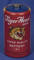 original Tiger Head brand mercury-free dry battery R20S, UM-1, D size, no.301