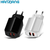 For Samsung Charger Original Mobile Phone 2 USB Ports Travel Charger QC 3.0 Universal USB Charger